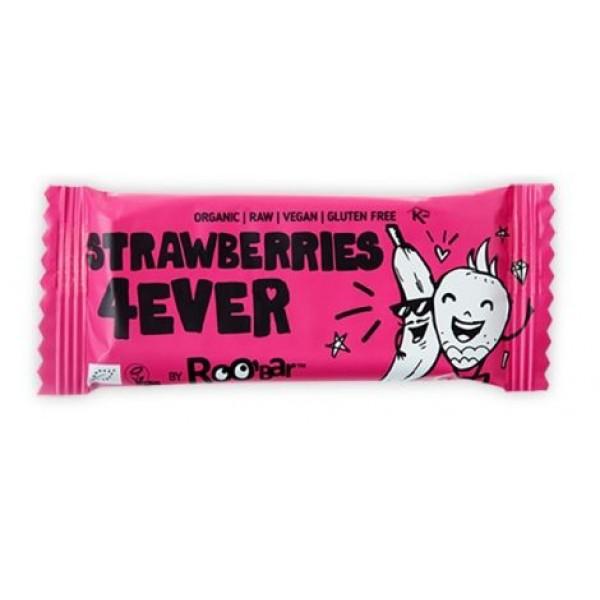 Baton Strawberries 4ever raw bio 30g