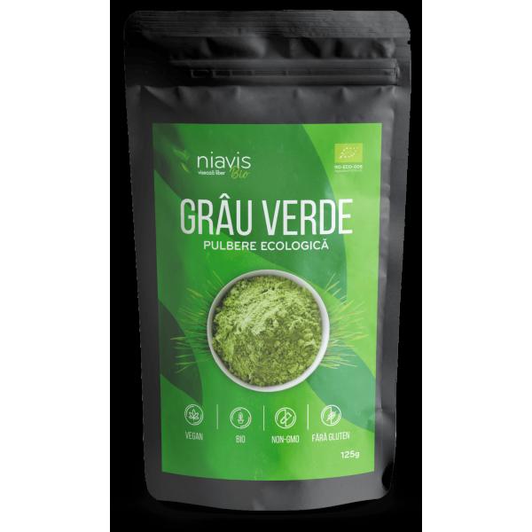 Niavis Grau Verde Pulbere Ecologica/BIO 125g