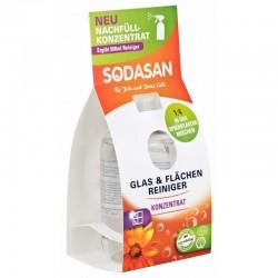 Sodasan Solutie bio de curatare a geamurilor concentrata 100 ml