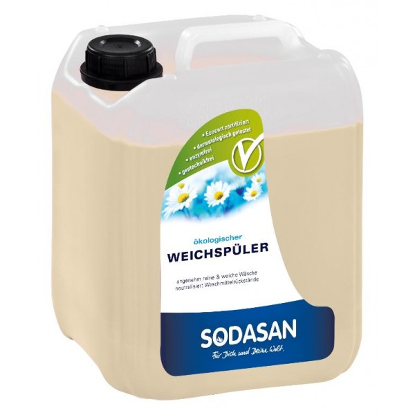 Sodasan Balsam ecologic pentru rufe cu aloe vera 5L
