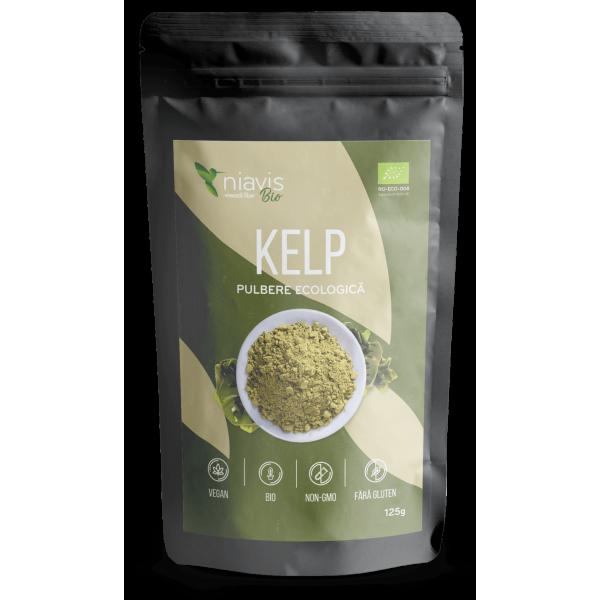 Niavis Kelp Pulbere 100% Naturala 125g