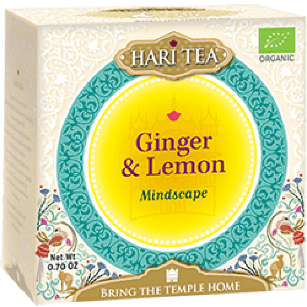 Ceai premium Hari Tea - Mindscape - ghimbir si lamaie bio 10dz