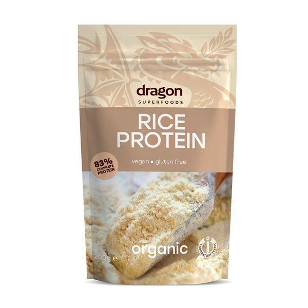 Pudra proteica din orez bio 200g