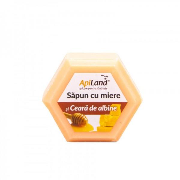 Apiland Săpun cu miere și ceară 100g