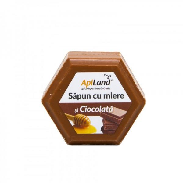 Apiland Săpun cu miere și ciocolată 100g