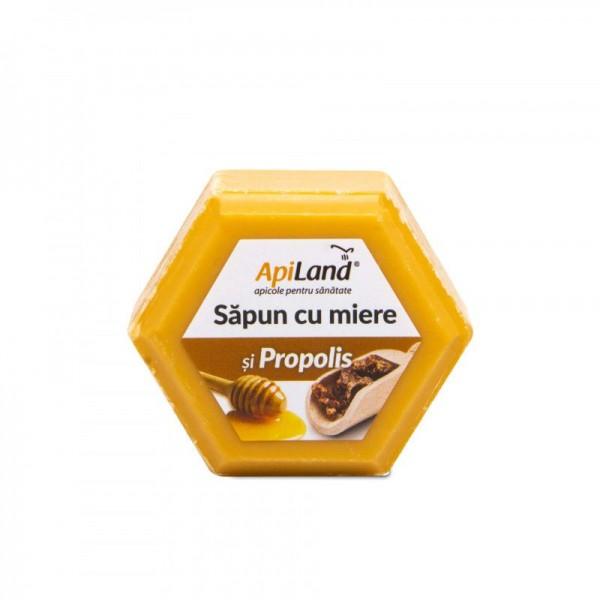 Apiland Săpun cu miere și propolis 100g