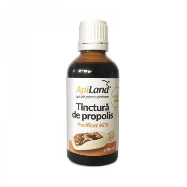 Apiland Tinctură de propolis purificat (95%) 50ml