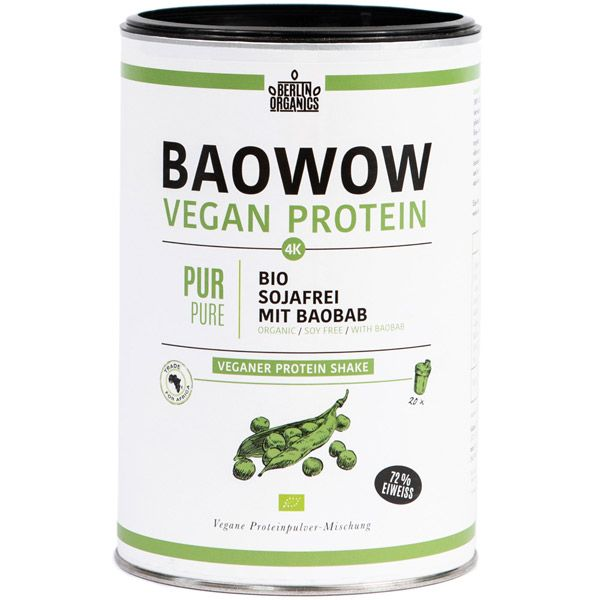Baowow shake proteic PURE bio 400g
