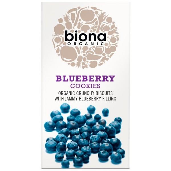 Biscuiti cu umplutura de afine bio 175g Biona