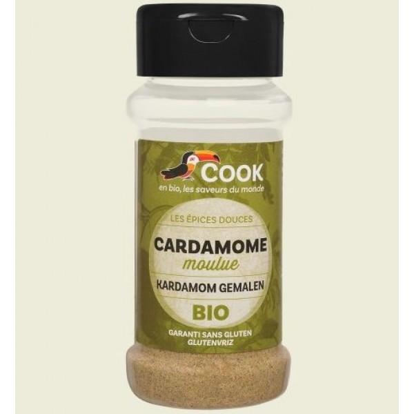 Cardamom macinat bio 35g