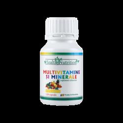 MULTIVITAMINE SI MINERALE 120 cps Health Nutrition
