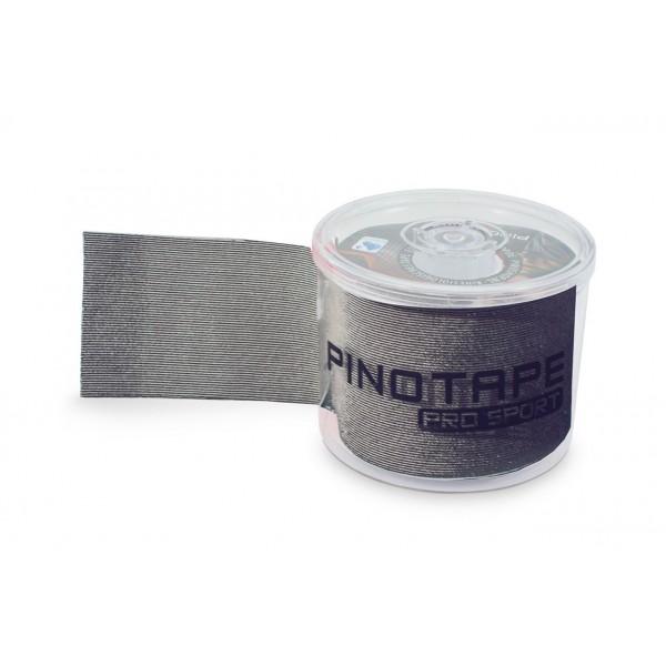 Banda Kinesiologica PINOTAPE® Sport - Gri Inchis + Dispenser