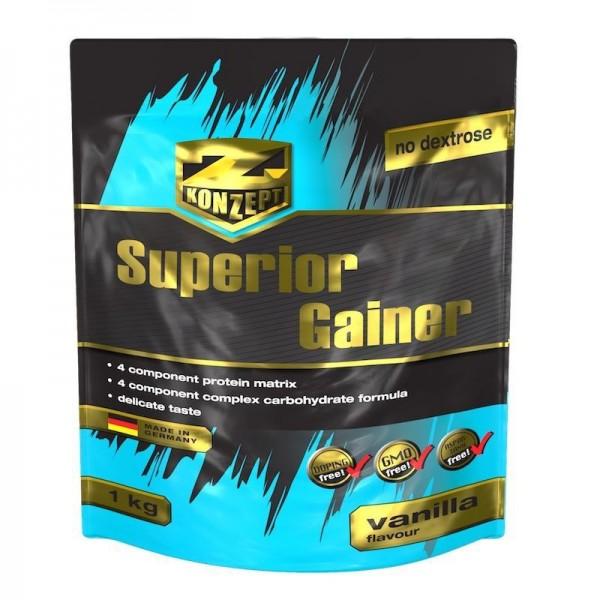 SUPERIOR GAINER (20% PROTEINA) - 4kg Ciocolata