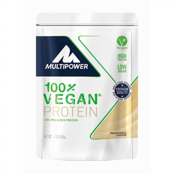 100% Vegan Protein - 450g  - Ciocolata