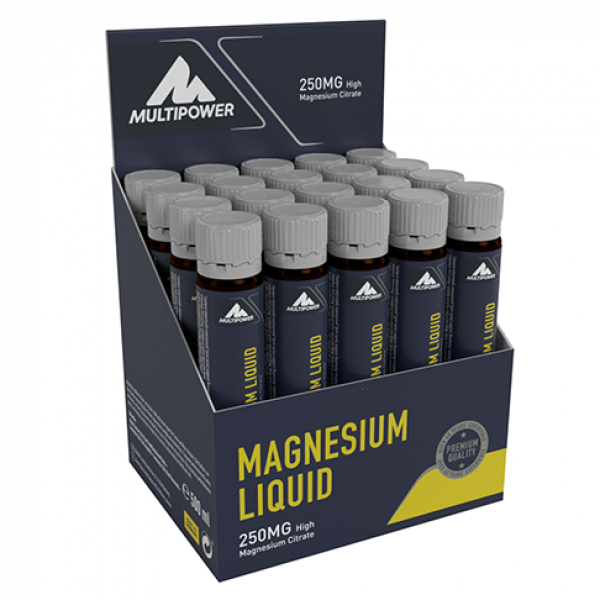 Magneziu Lichid 20 X 25 ml Multipower