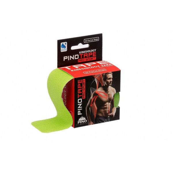 Banda Kinesio PINOTAPE® Sport PRE-CUT - Lime
