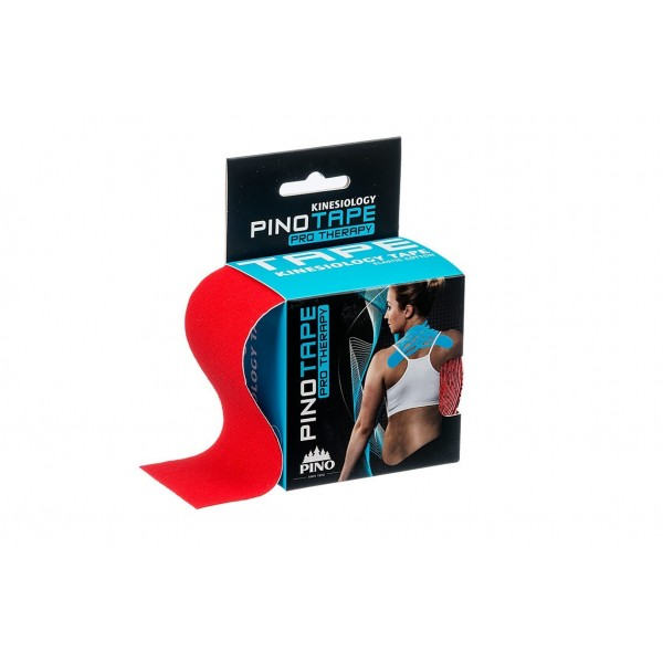 Banda Kinesio PINOTAPE® pro Therapy - Rosu