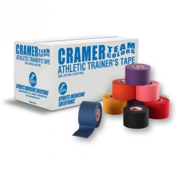Athletic Tape Colorat - Cramer - 3.8cm Negru