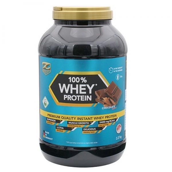 100% Whey Protein 2.28kg Ciocolata - Z-Konzept