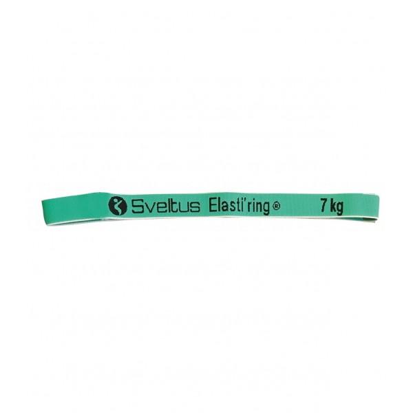 Banda elastica circulara 7kg verde - Sveltus