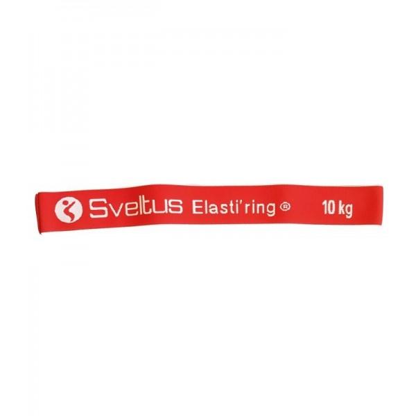 Banda elastica circulara 10kg rosie - Sveltus