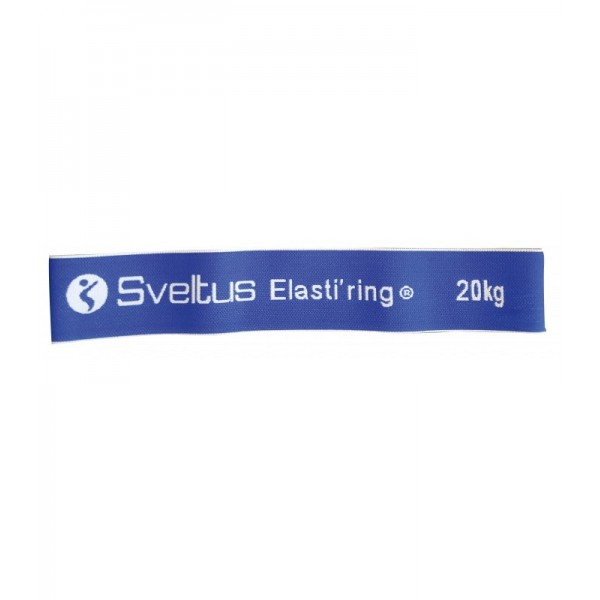 Banda elastica circulara 20kg albastra - Sveltus