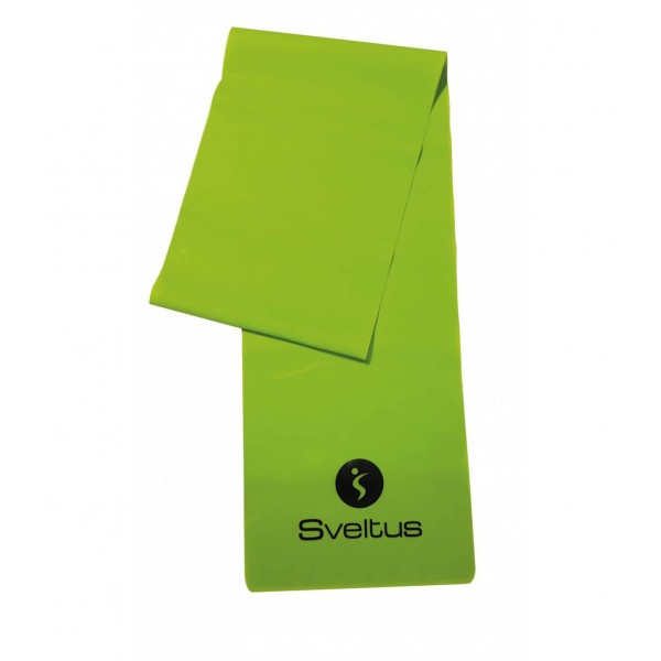 Banda latex antrenament verde 1.2m - Sveltus