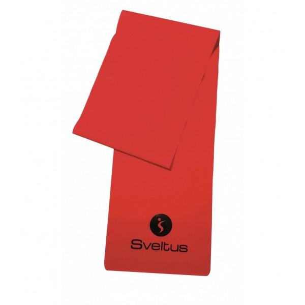 Banda latex antrenament rosie 1.2m - Sveltus