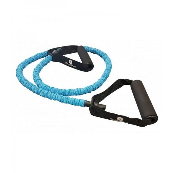 Tub elastic antrenament Power - Albastru - Sveltus