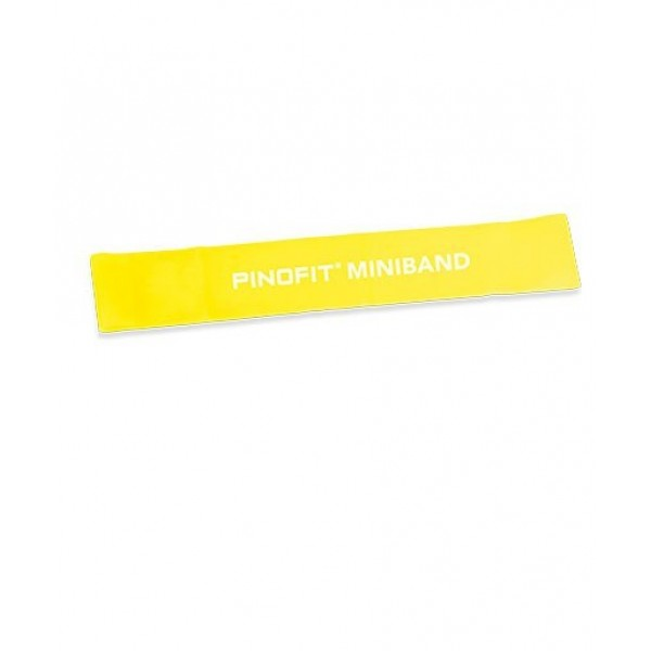 Banda elastica Miniband 33cm galbena PINOFIT®