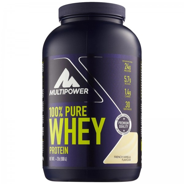 100% Pure Whey Protein - 900g - Vanilie Multipower