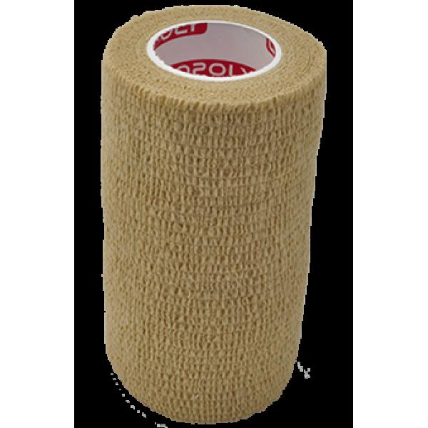 Bandaj elastic autoadeziv 10cm - Crem (Skin)