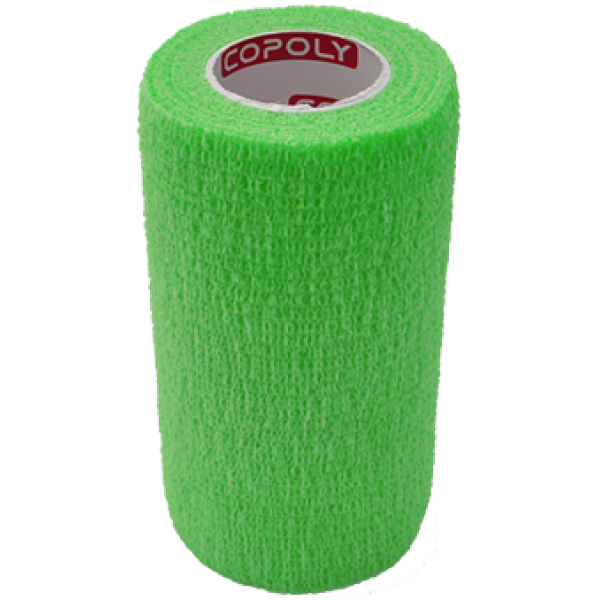 Bandaj elastic autoadeziv 10cm - Verde deschis