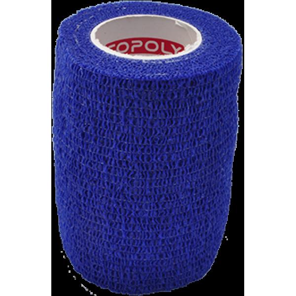 Bandaj elastic autoadeziv 7,5cm - Albastru