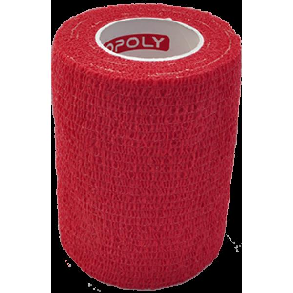 Bandaj elastic autoadeziv 7,5cm - Rosu