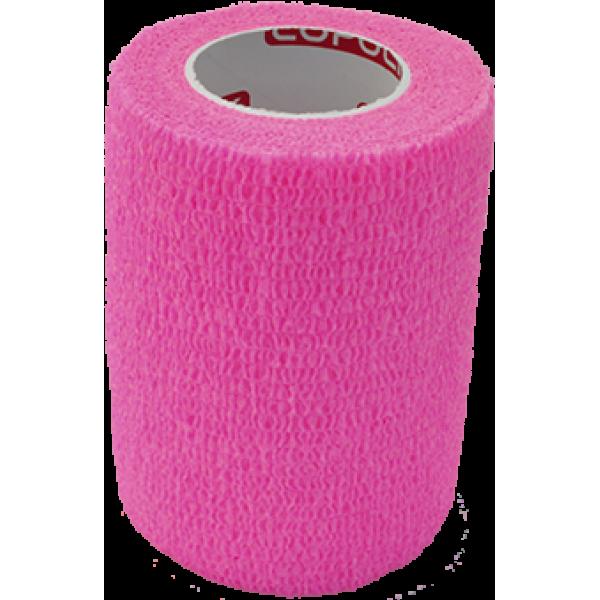 Bandaj elastic autoadeziv 7,5cm - Roz