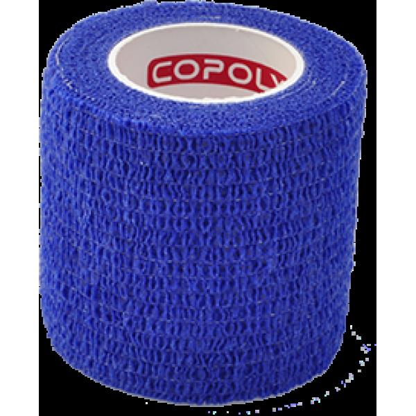 Bandaj elastic autoadeziv 5cm - Albastru