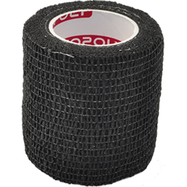 Bandaj elastic autoadeziv 5cm - Negru