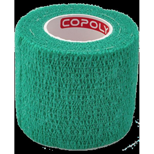 Bandaj elastic autoadeziv 5cm - Verde