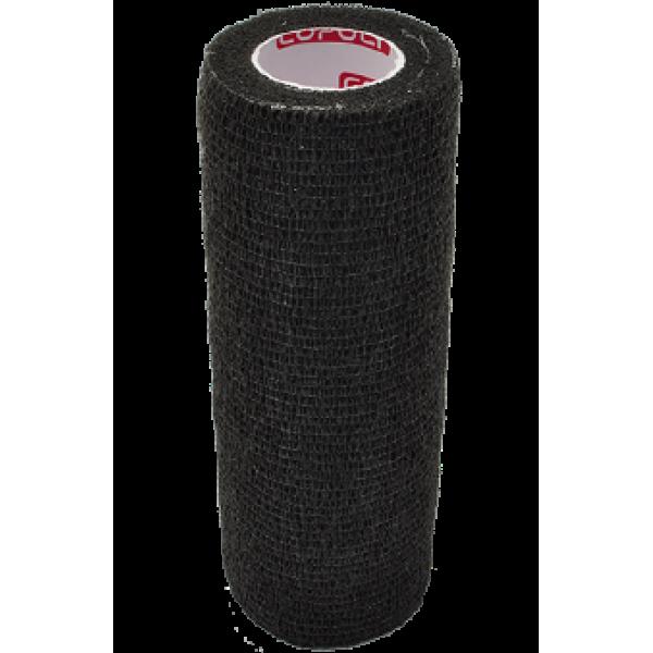 Bandaj elastic autoadeziv 15cm - Negru