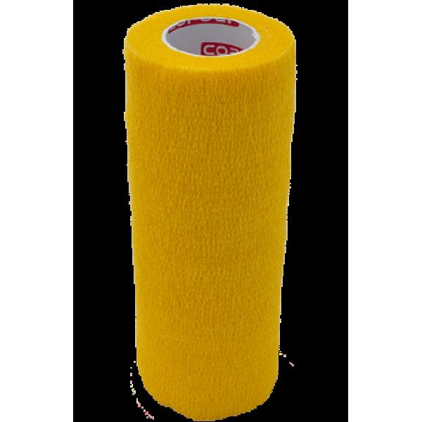 Bandaj elastic autoadeziv 15cm - Galben