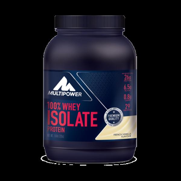100% Whey Isolate Protein 725g - Vanilie