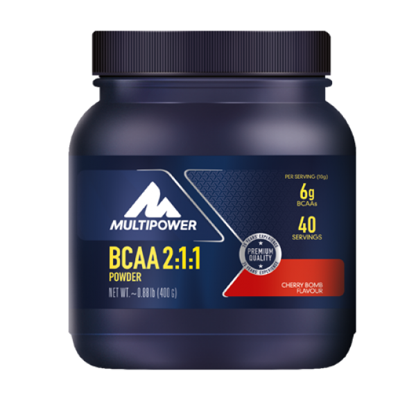 BCAA Pudra 2:1:1 400g Multipower