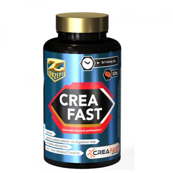 CREATINA TABLETE CREAFAST® 120BUC