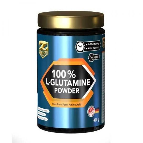 100% L-GLUTAMINA PUDRA - 400G Z-KONZEPT