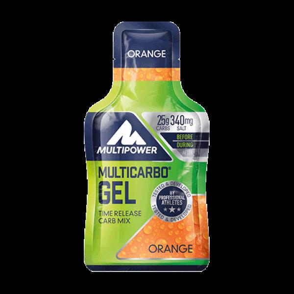 Multicarbo Gel 40g - Orange Multipower