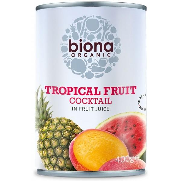 Cocktail de fructe tropicale bio 400g