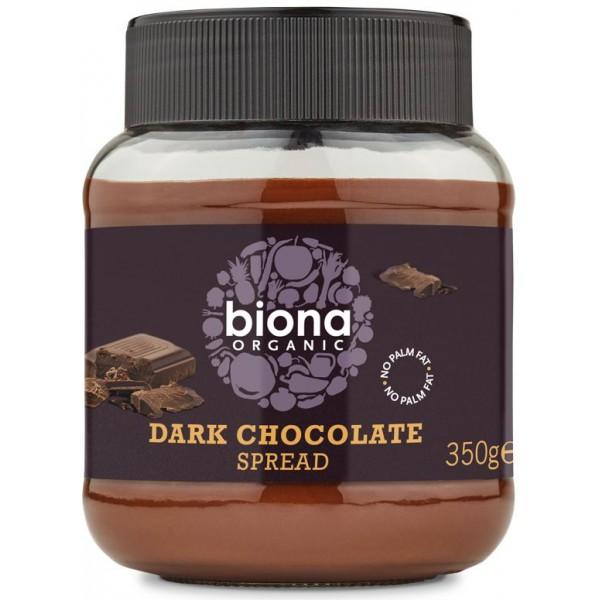 Crema de ciocolata dark bio 350g
