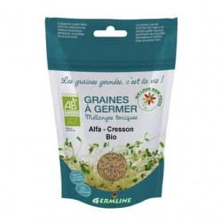 Alfalfa si creson seminte pt. germinat bio 150g