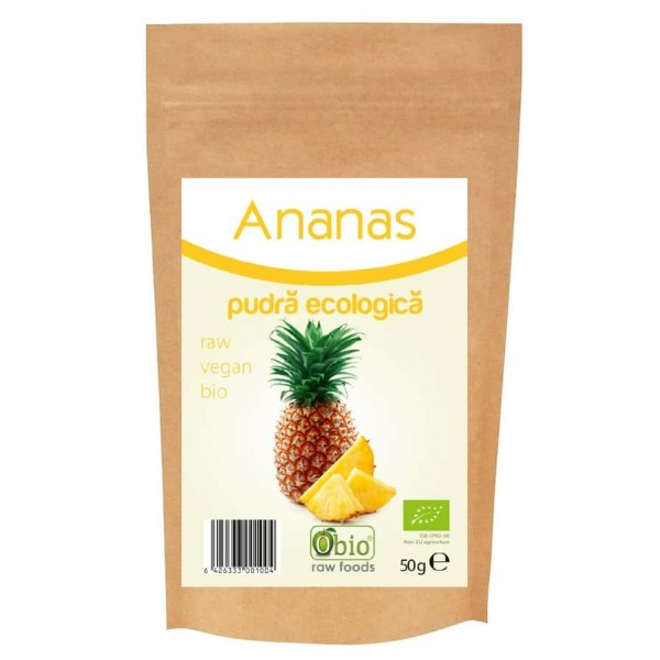 Ananas pudra bio 50g
